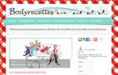 Création du site Bodyrecettes.com