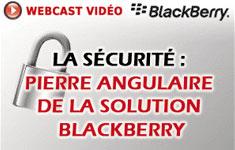 Campagne pour le Webcast Blackberry